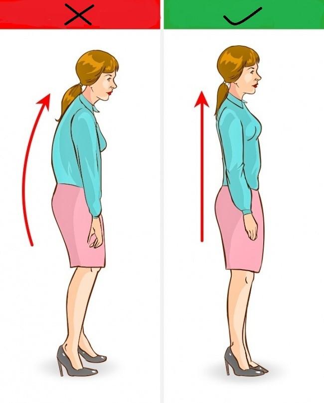 تغییر حالت بدن هنگام راه رفتن با کفش پاشنه بلند
