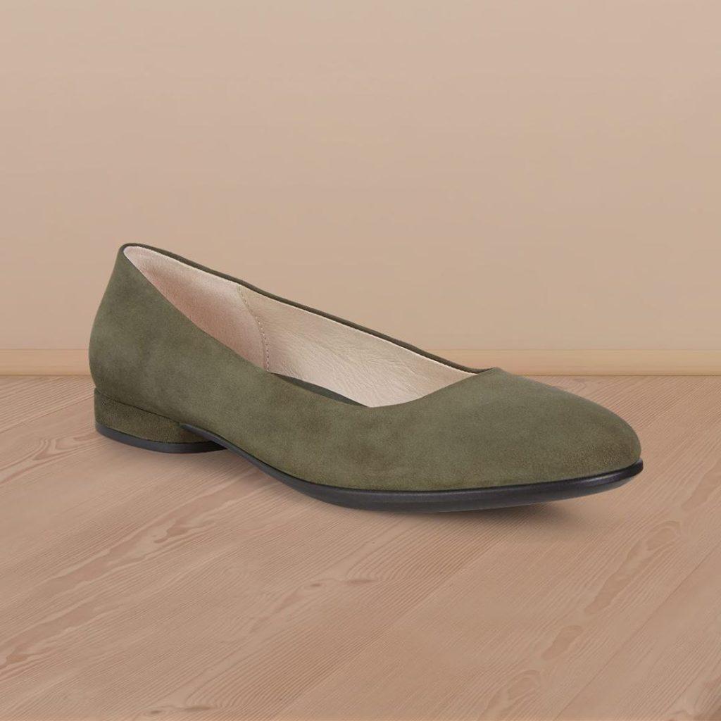 مدل های کفش تخت Ecco