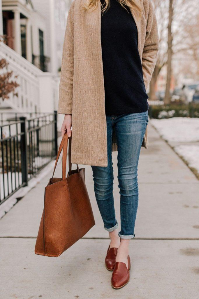 مدل کفش چرم پاییزی