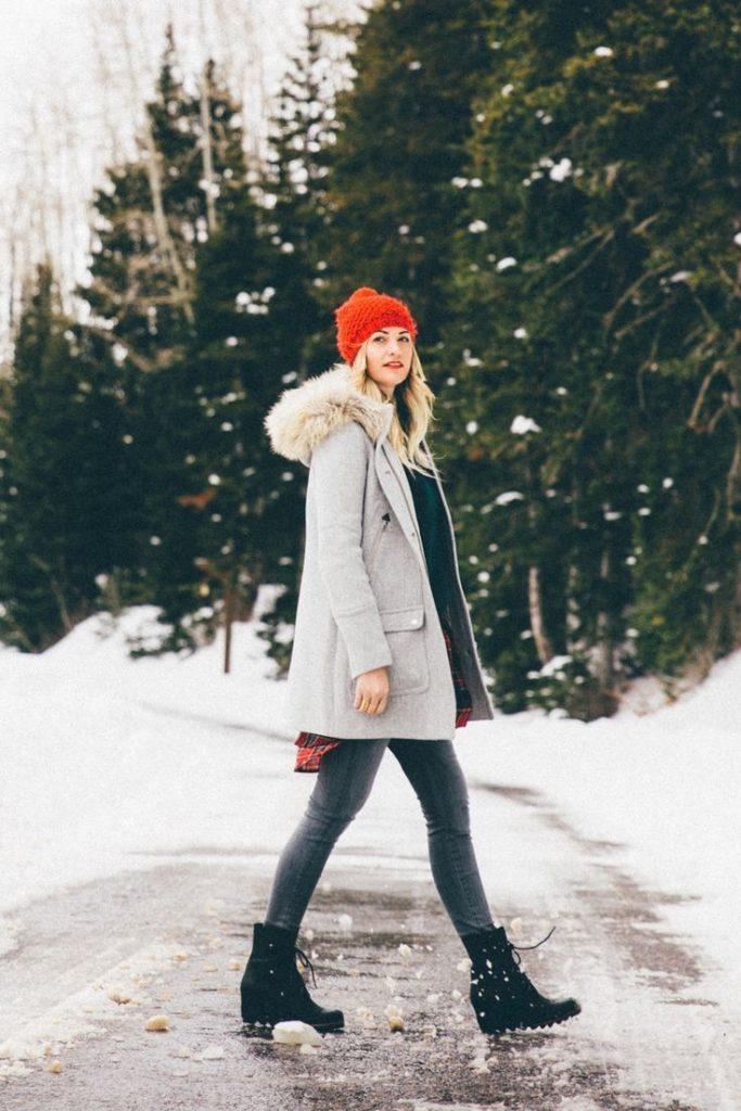 نیم بوت زنانه زمستانه