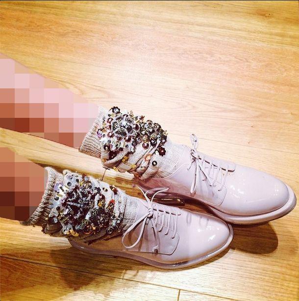 کفش ورنی پاییزی زنانه
