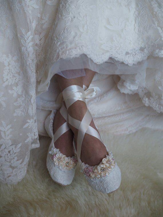 مدل کفش عروس باله