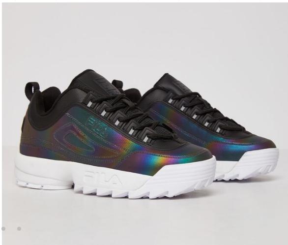 کفش رنگین کمونی fila