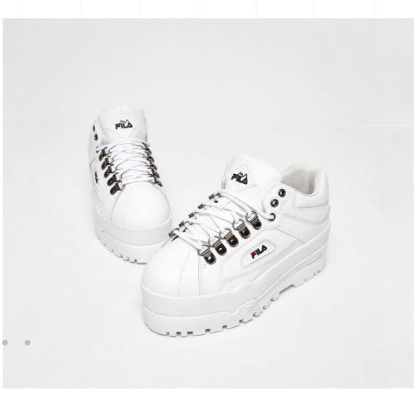 کفش لژدار fila