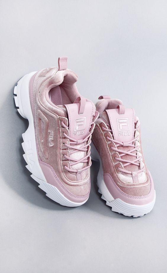 کفش مخملی fila