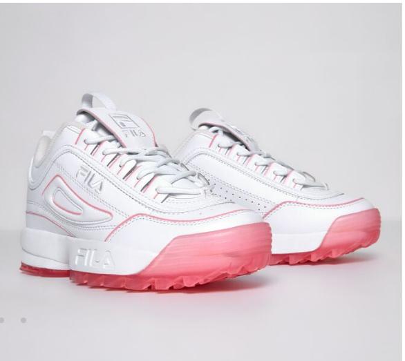 کفش پاشنه شیشه ای fila