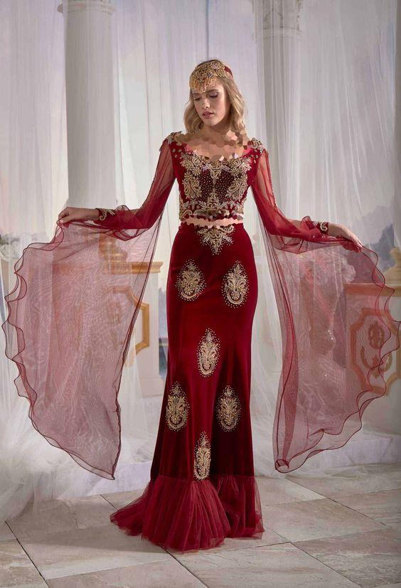 لباس مجلسی مخمل سنتی