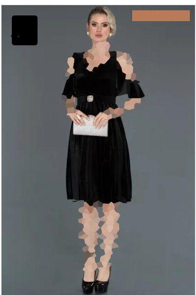 لباس مجلسی مخمل دوبنده