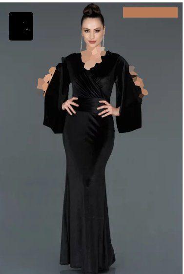 خرید لباس مجلسی پولکی با اپلیکیشن کمدا