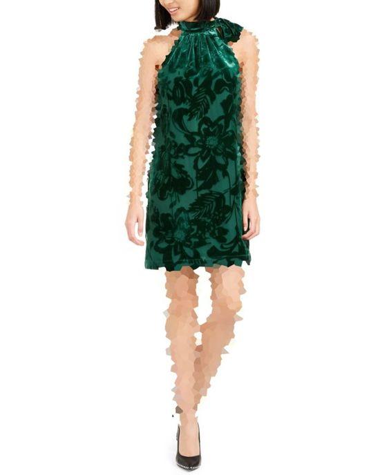 مدل لباس مجلسی مخمل گلدار
