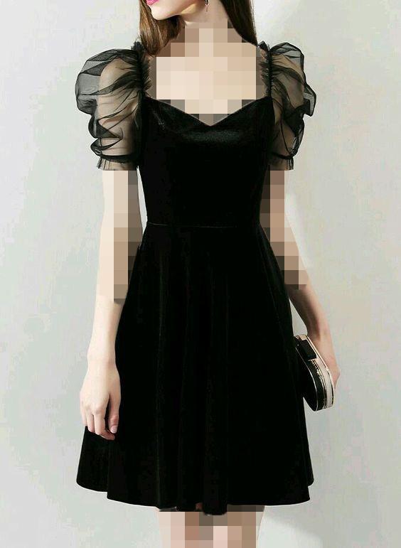 مدل جدید لباس مجلسی مخمل و تور
