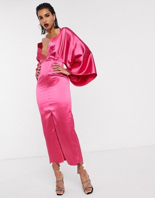 آستین کیمونو لباس مجلسی