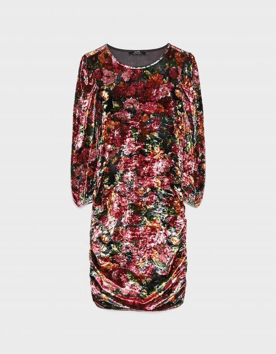 لباس مجلسی مخمل گلدار