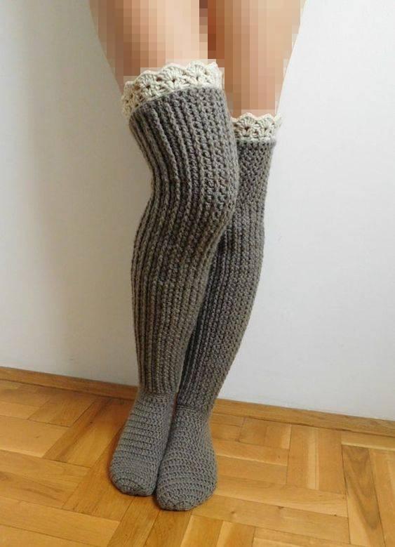 مدل پاپوش ساق بلند
