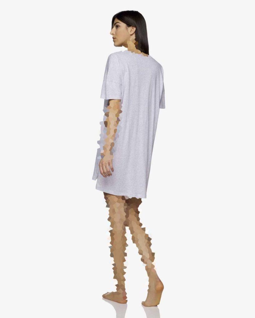 مدل جدید تیشرت بلند اورسایز