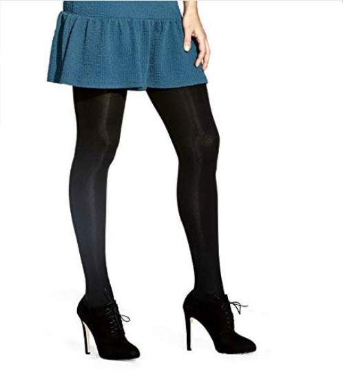 مدل جدید جوراب شلواری مشکی براق