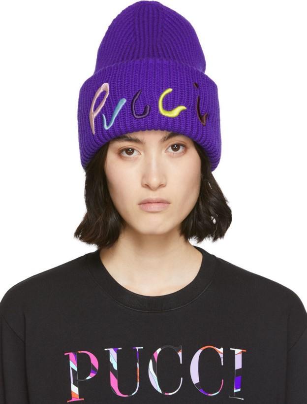 مدل جدید کلاه زنانه و دخترانه برند Pucci