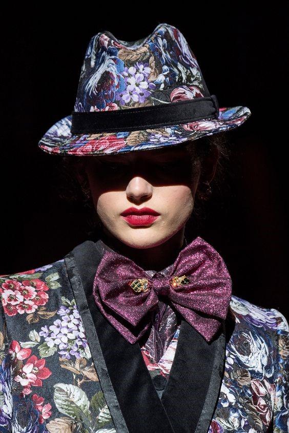 مدل جدید کلاه فدورا برند Dolce and Gabbana