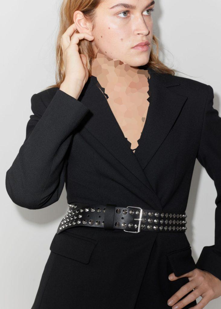 مدل جدید کمربند پهن چرم زنانه و دخترانه