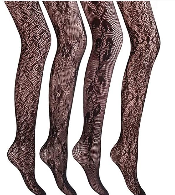 مدل جدید جوراب شلواری پترندار