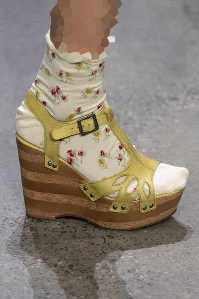 جوراب گلدار ترند
