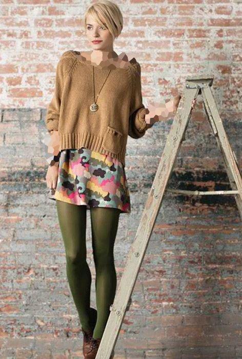 مدل جدید جوراب شلواری رنگی