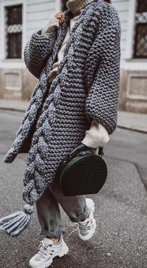 استایل زمستانه با مدل جدید بافت