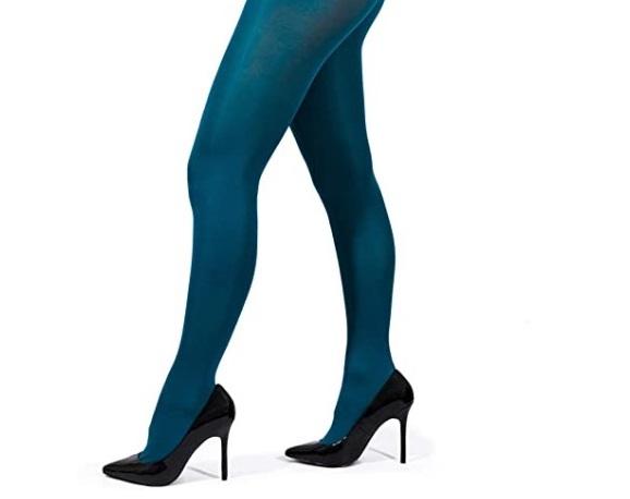 مدل جدید جوراب شلواری آبی