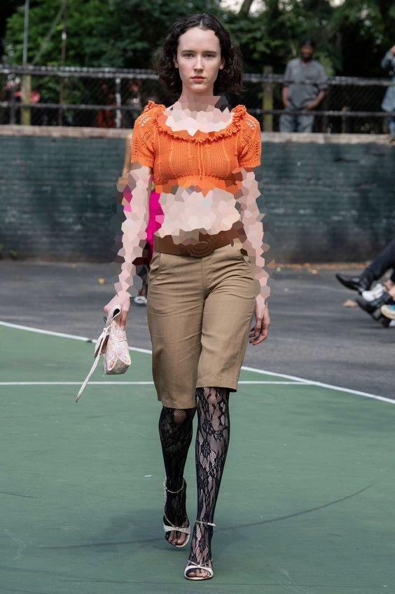 شلوارک زنانه بلند