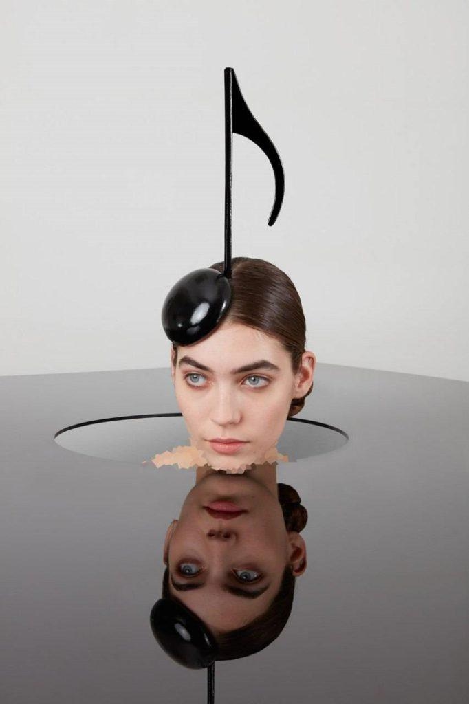 مدل جدید کلاه به شکل نت موسیقی