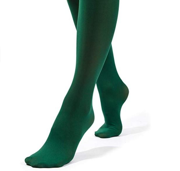 مدل جدید جوراب شلواری سبز