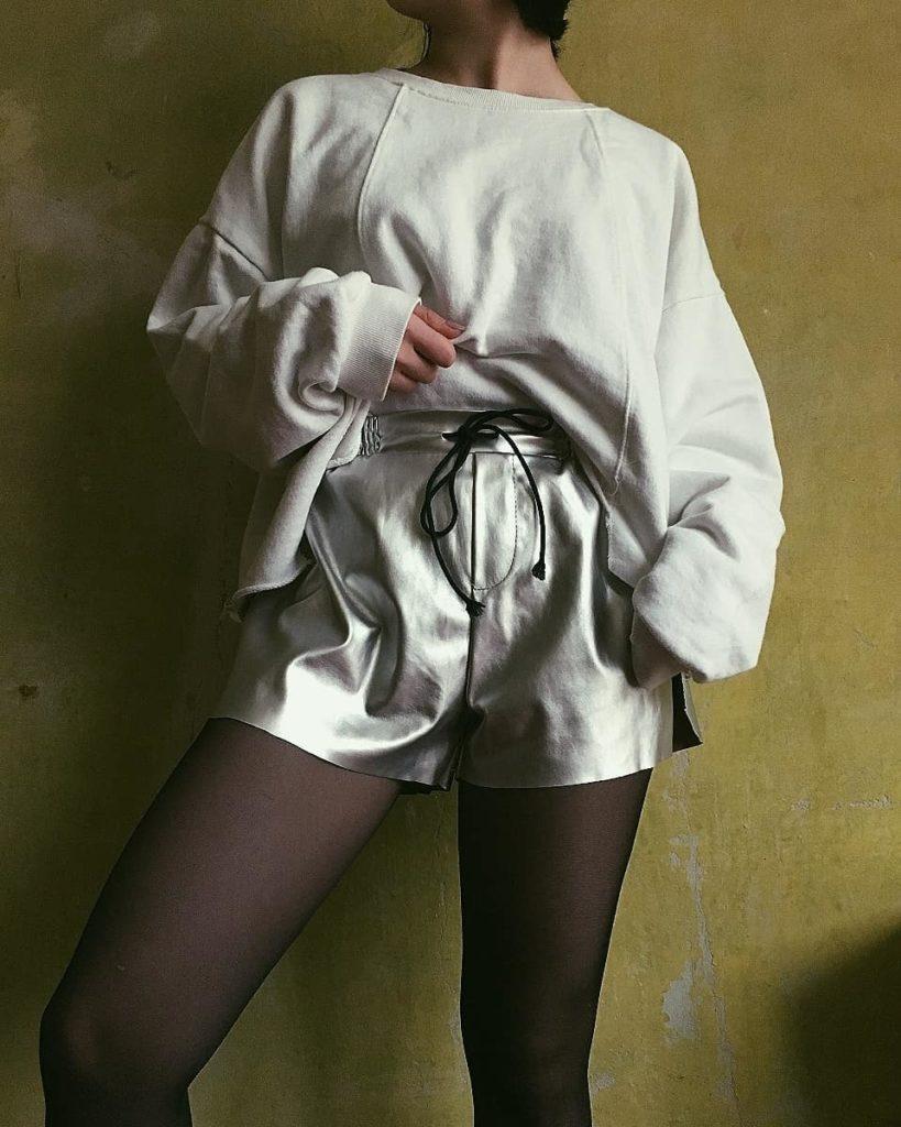 شلوارک شاینی زنانه