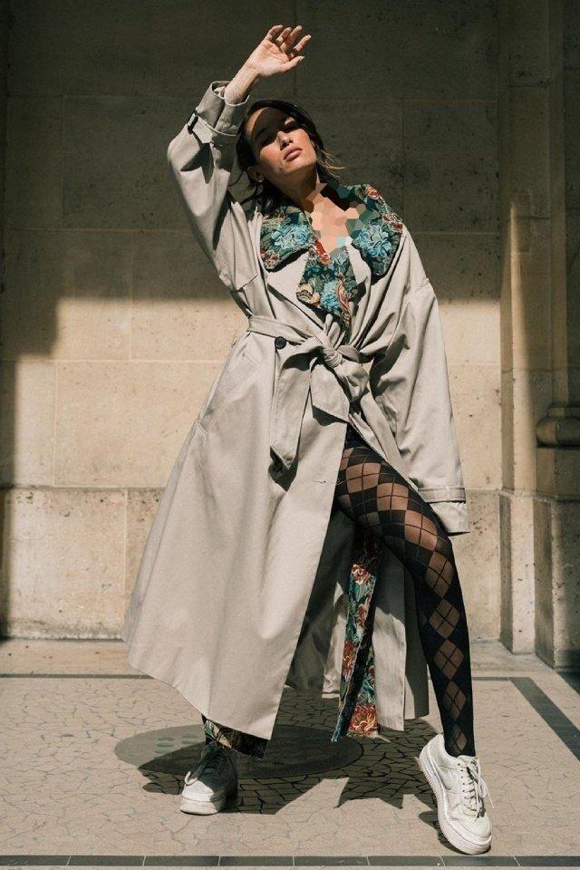 جوراب شلواری پترن دار زنانه و دخترانه جدید