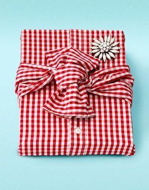 بسته بندی پارچهای : ایده بسته بندی کادو