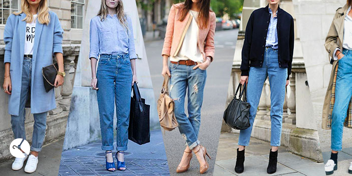 انواع مدلهای شلوار جین زنانه (6 مدل )