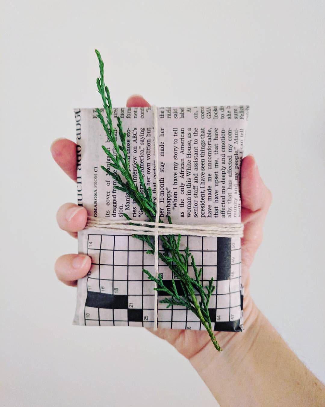 بسته بندی با روزنامه