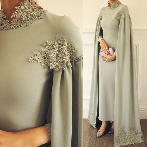 لباس مجلسی شنلدار ترک