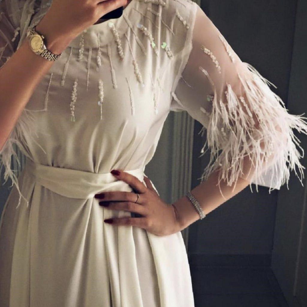 مدل ریش ریش : لباس مجلسی ترکیه ای 2019