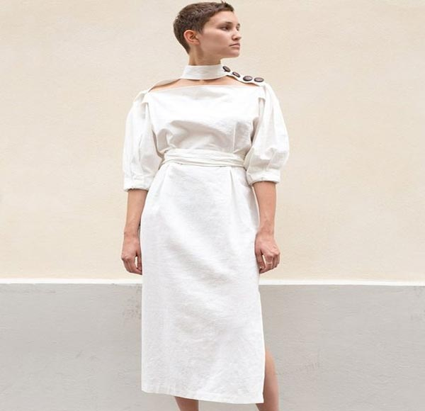 لباس مجلسی یقه ایستاده