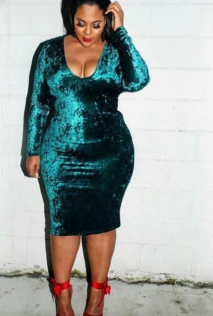مدل گلابی/لباس مجلسی برای خانم های چاق