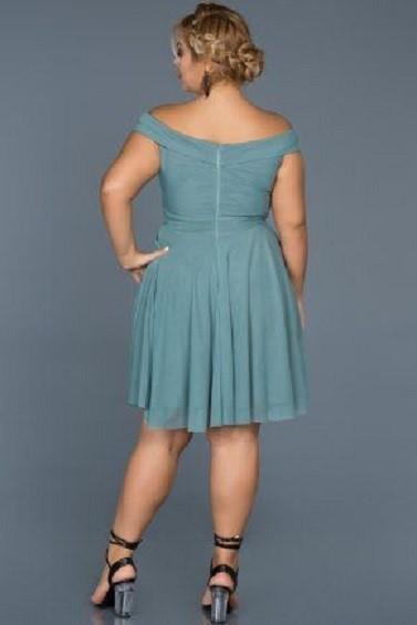 لباس مجلسی کلوش کوتاه/لباس مجلسی برای خانم های چاق