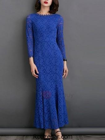لباس مجلسی تمام گیپور