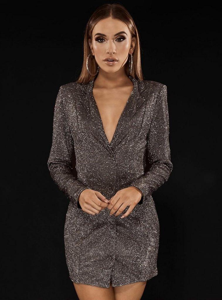 مدل لباس مجلسی کوتاه رسمی