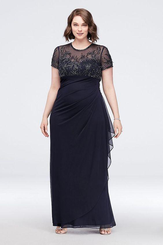 مدل لباس مجلسی گیپور رنگ مشکی