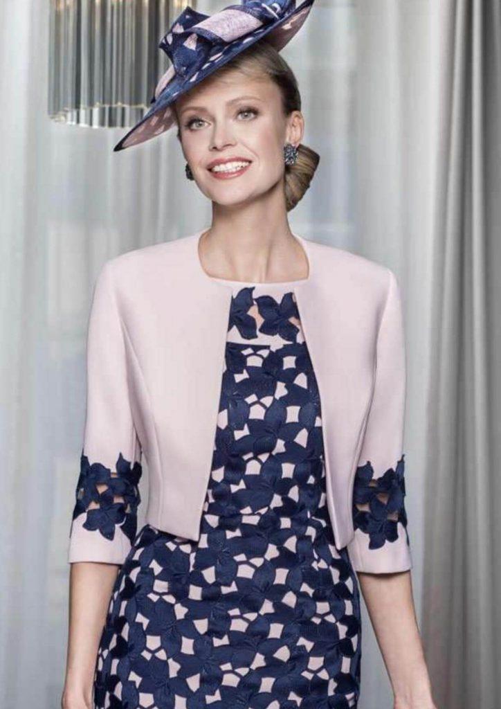 مدل لباس مجلسی دو تکه کت دار 2019