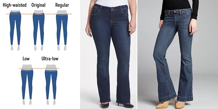 راهنمای سایز و خرید شلوار جین زنانه