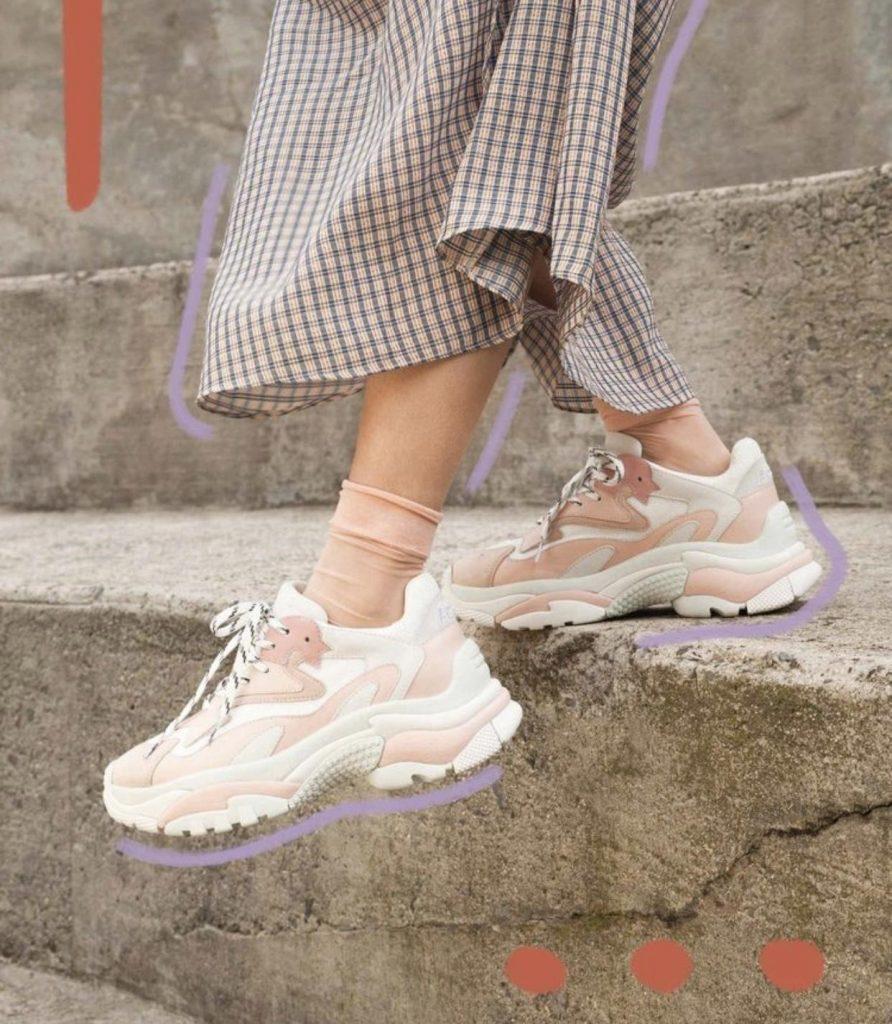 مدل های جدید کفش اسپورت ۲۰۱۹ کفش های اسپورت با رنگ های پاستلی