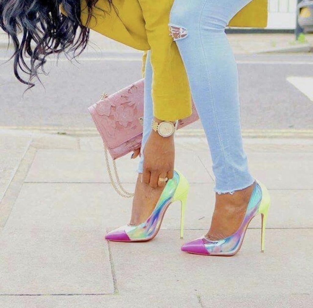 مدل های جدید کفش مجلسی ۲۰۱۹ کفش های مجلسی رنگ جیوه ای