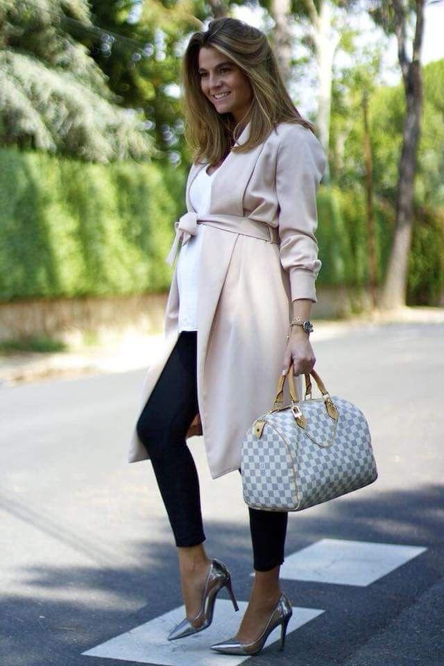 لباس بارداری پوشیده برای استایل بیرون