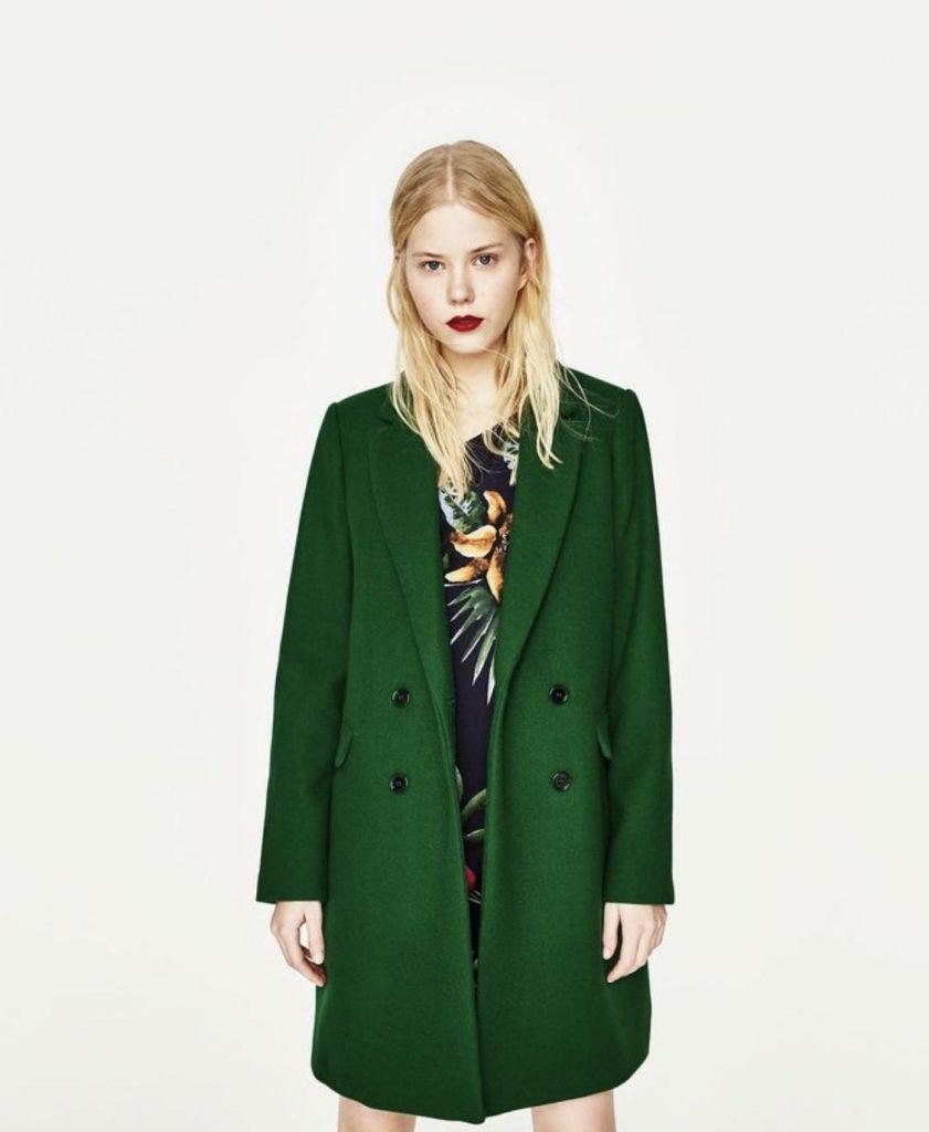 ست لباس های پترن دار با رنگ سبز